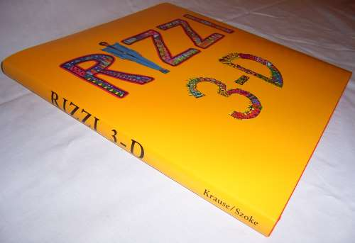 "Inclusive ""RIZZI 3-D"" cover, yellow !"