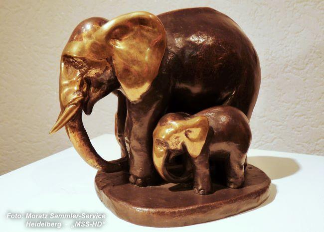 Maximilian Delius - Elefantengruppe (Elephant Group)